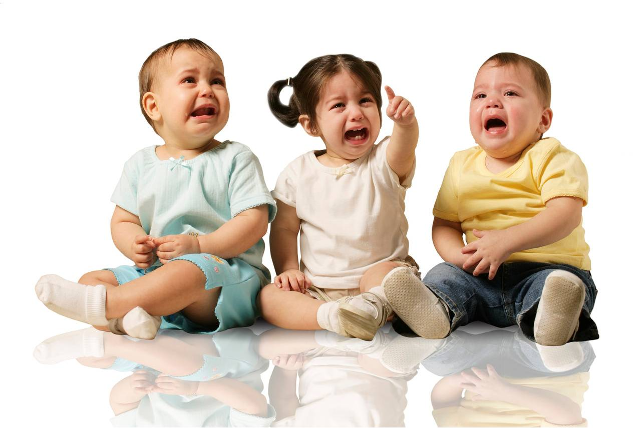 A Room Full Of Crying Babies